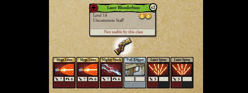 laser blunderbuss
