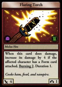 flaring-torch