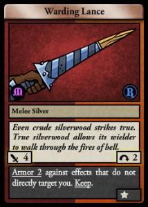 warding-lance